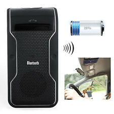 MOBILE WIRELESS BLUETOOTH HANDSFREE CAR KIT SPEAKERPHONE SUN VISOR CLIP USEFUL