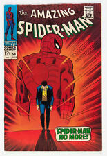 """AMAZING SPIDERMAN #50 """"SPIDER-MAN NO MORE"""" RESTORED PROFESSIONAL COLOR TOUCH"""