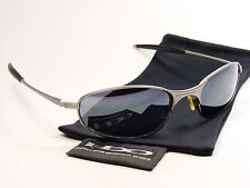 OAKLEY A WIRE LIGHT BLACK SONNENBRILLE SQUARE WHISKER TIGHTROPE TAPER TAILBACK E