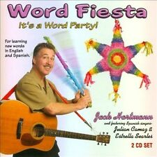 Word Fiesta It's a Word Party! For Learning Words in English and Spanish