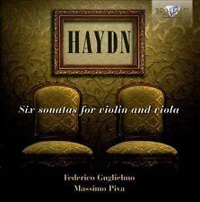 Joseph Haydn 6 Sonates pour violon et alto, New Music