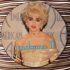 "MADONNA II INTERVIEW 2-SIDED 12"" PICTURE DISC VINYL-BAK#2104-LIMITED EDITION OOP"
