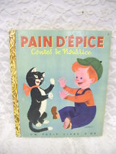 FRENCH PAT A CAKE LITTLE GOLDEN BOOK PAIN D'EPICE 1948 RARE