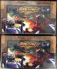 Two (2) Brand New Redakai CCG Power Pack Trading Card Game Sealed Booster Boxes