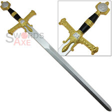 Judgement of King Solomon Foam Replica Broadsword LARP Sword Prop Latex Weapon