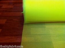 Yellow High Viz Mesh Spacer Fabric Material SALE! Just £3.99 per Metre!