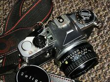 Pentax ME Super 35mm SLR Film Camera with 50mm F1.7 SMC Pentax-M Prime Lens