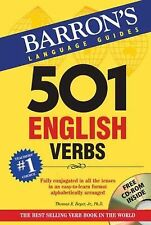 501 English Verbs with CD-ROM by Thomas R. Beyer Jr. (2013, Paperback, Revised)