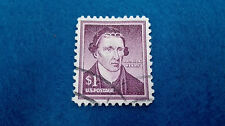 Sello Estados Unidos 1 Dollar Patrick Henry 1954, scott 1052. Stamp U.S. Postage
