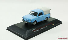 TRABANT 1.1 Pick-Up Closed, 1990 (light blue), scale model cars 1:43