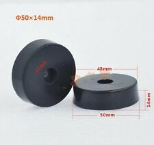 4pcs 50mm * 14mm Rubber Feet for Car Stereo speaker Pad amplifier chassis