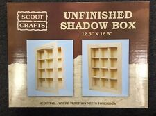 Shadow Box For Your Scout Rock Gem Shot Glass Fishing Lure Thimble Collection