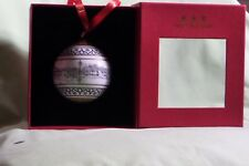 Glyndebourne Architectural Christmas Ornament Ball Bauble by Halcyon Days RARE!