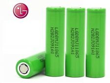 4 Genuine LG MJ1 Lithium Li lon 18650 3500mah Battery Better than Efest H Drain
