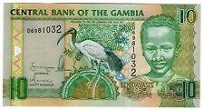 **   GAMBIE     10  dalasis   2006   p-26a    UNC   **