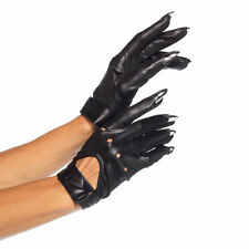 Sexy Full Finger Claws Motorcycle Gloves Halloween Costume Accessory Adult Women