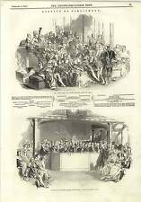 1845 Ambassadors Church Benches House Of Lords House Of Commons
