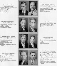 1929-30 Harvard Medical School Yearbook~Photos~History~Doctors~Fraternities~++++
