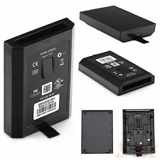 XBOX 360 Slim Hard Disk HDD interno Case Custodia Conchiglia Nero