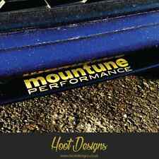 Mountune ADESIVO BADGE FORD FIESTA FOCUS RS ST Auto Splitter Paraurti Finestra Decalcomania