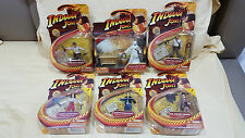 INDIANA JONES MOVIE FIGURES (SET OF 6) ark marvel dc neca spawn shf sabretooth
