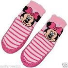 Baby Girl Pink Disney Minnie Mouse Moccasin Shoe Sock