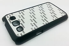Black Sublimation Case Cover For Samsung Galaxy GT- i8552