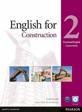 English for Construction 2 Course Book with CD-ROM (Vocational English-ExLibrary