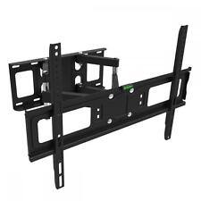 "FULL MOTION TILT LCD LED TV WALL MOUNT DUAL ARM32 39 40 42 46 47 50 55 60 65""M65"