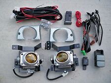 92-95 Honda Civic 4 Door EH JDM Yellow Fog Light Kit + Harness + Switch Si