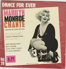 ♪ Marilyn Monroe ♪ I wanna be loved by you ♪ 1983 . Vinyle 45 rpm 2c00883377