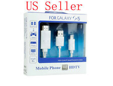 Micro USB MHL To HDMI 1080P HD TV White Cable For SAMSUNG GALAXY S5 NOTE 4 Phone