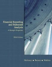 Financial Reporting and Statement Analysis : A Strategic Approach