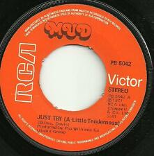 MUD - JUST TRY (A LITTLE TENDERNESS) - RCA 1977 - ORIGINAL 70s GLAM ROCK