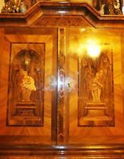 Barock Intarsien Marketerie Säulen Schrank Baroque Hall Cabinet Marquetry 17 18