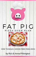 Fat Pig Pizza Oven Plan eBook on CD