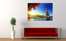 EIFFEL TOWER AUTUMN NEW GIANT LARGE ART PRINT POSTER PICTURE WALL