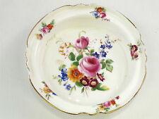 Royal Doulton Rd N° 328840 Plat Bol Jante Or Motif Floral 135mm Diamètre