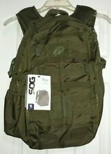 SOG Ninja Day Pack Tactical Molle Backpack Woodland Camo Hiking Range Pack NWT