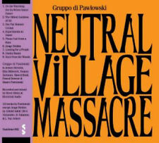 GRUPPO DI PAWLOWSKI-NEUTRAL VILLAGE MASSACRE-CD ALBUM STAHLMUS NEW steve albini