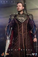"""HOT TOYS Superman Man of Steel Jor-El Russell Crowe 12"""" Figure IN STOCK"""