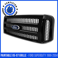 Ford Paintable 05-07 Super Duty/Excursion Grille For 99-04 f250 F350 Conversion
