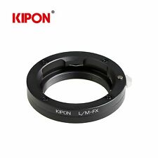 Kipon Adapter for Leica M L/M Mount Lens to Fuji X-Pro1 X-E1 X-T1 X-M1 Camera