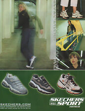 Publicité 2000  SKECHERS SPORT Footwear chaussure basket sport collection mode