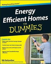 Energy Efficient Homes For Dummies (For Dummies (Home & Garden))-ExLibrary