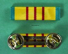 VIETNAM SERVICE MEDAL Mounted RIBBON BAR - Original Vietnam War GI Issue  NOS