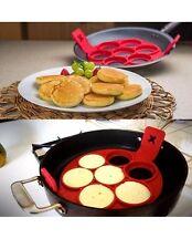 Antiaderente Pancake PAN FLIP perfetta colazione Maker uovo frittata flipjack Tools