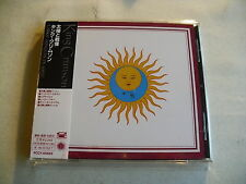 King Crimson ‎– Larks' Tongues In Aspic  1973   Japan CD