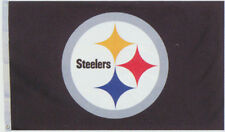 Pittsburgh Steelers Huge 3'x5' NFL Licensed All Pro Flag / Banner -Free Shipping
