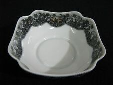 Scallop-Edged Bowl by Georges Boyer Limoge France for Marcel Rochas/Lace Motif